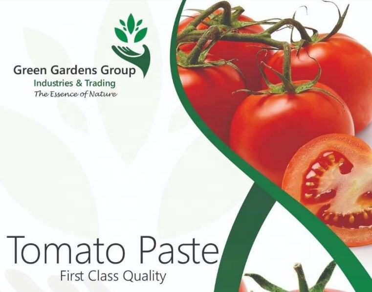 Tomato paste concentrate pulp in bulk