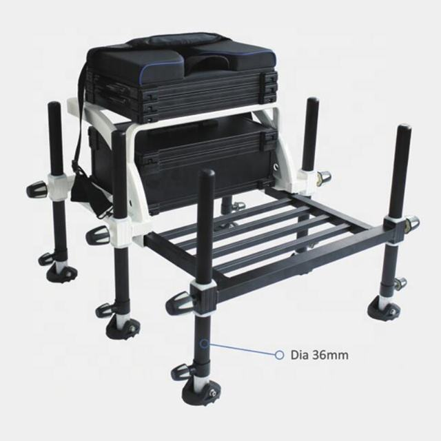 High quality aluminum seat box fishing seat box F19-TB050