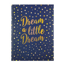Dream A Little Dream 80 Ruled Pages Staple Bound Custom Printed Journal Exercise Note Book