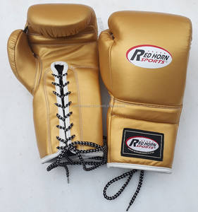 Winning Boxing Gloves 100 % Pure Genuine Leather Mexican Style Boxing Gloves