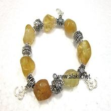Citrine Tumble Bracelet from india
