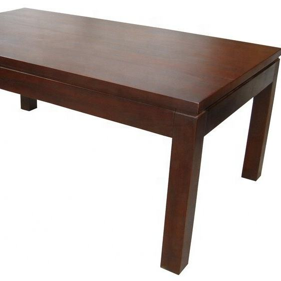 TEAK INDOOR FURNITURE - COFFEE TABLE WOOD TOP