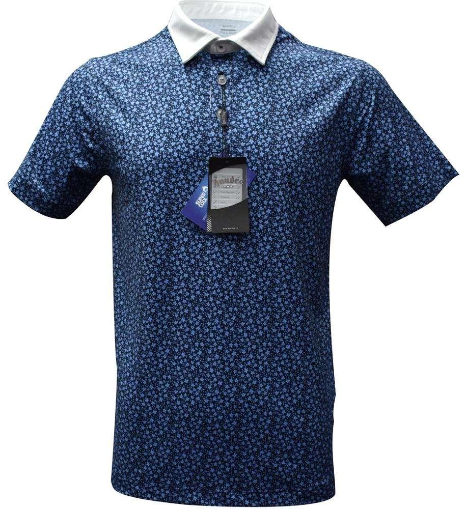 Handee Blue Dot Air Express Livraison Oem T-Shirt Golf T Shirt Hommes Tissu Avec Polyester De Haute Qualité