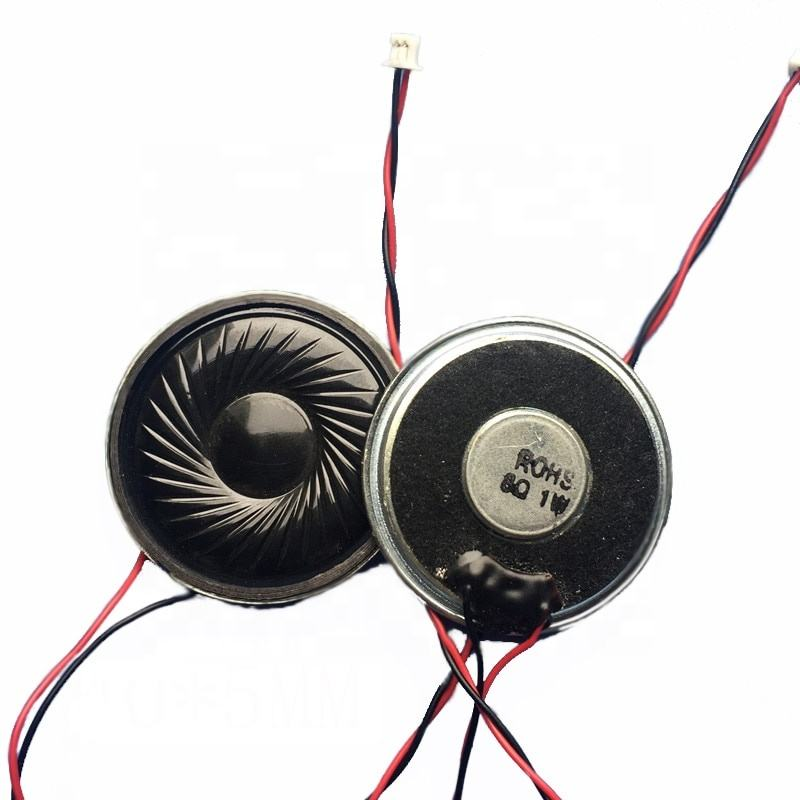 Taidacent Diameter 40MM 1W 8 Ohm Internal Magnetic Audio Voice Speaker Dust Horn Building Intercom Speaker
