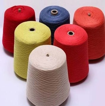 Fancy Wool Knitting Yarn High Tenacity Cotton Yarn