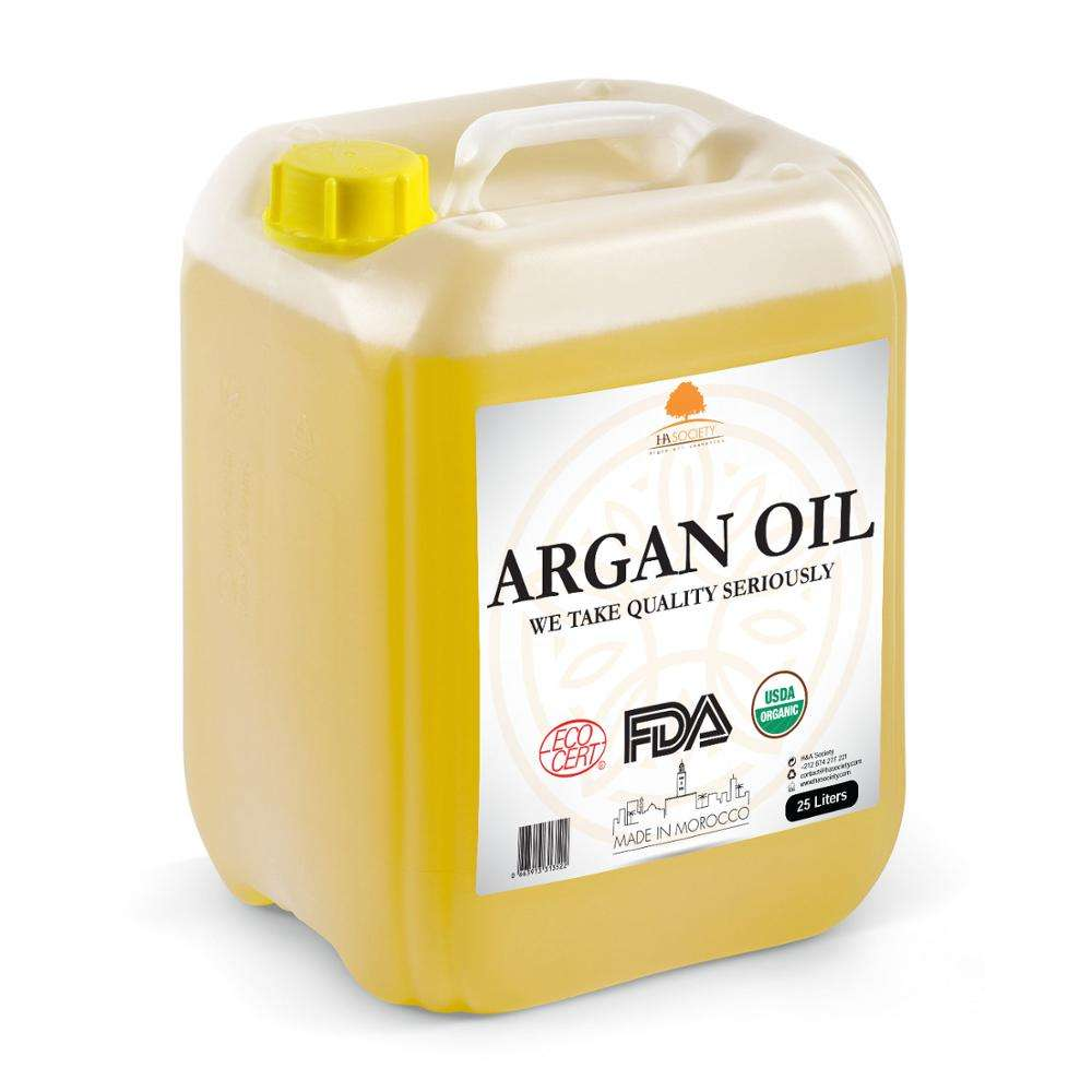 100% Moroccan argan oil bulk for Hair with top quality
