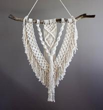 Large Macrame Wall Hanging with Tassels