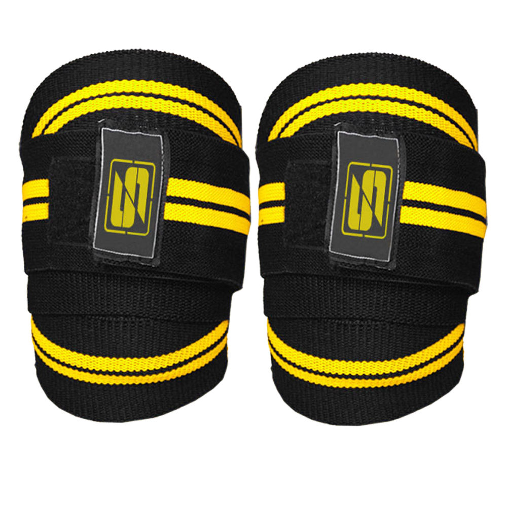 Workout Weightlifting Fitness & Power lifting Knee Wraps