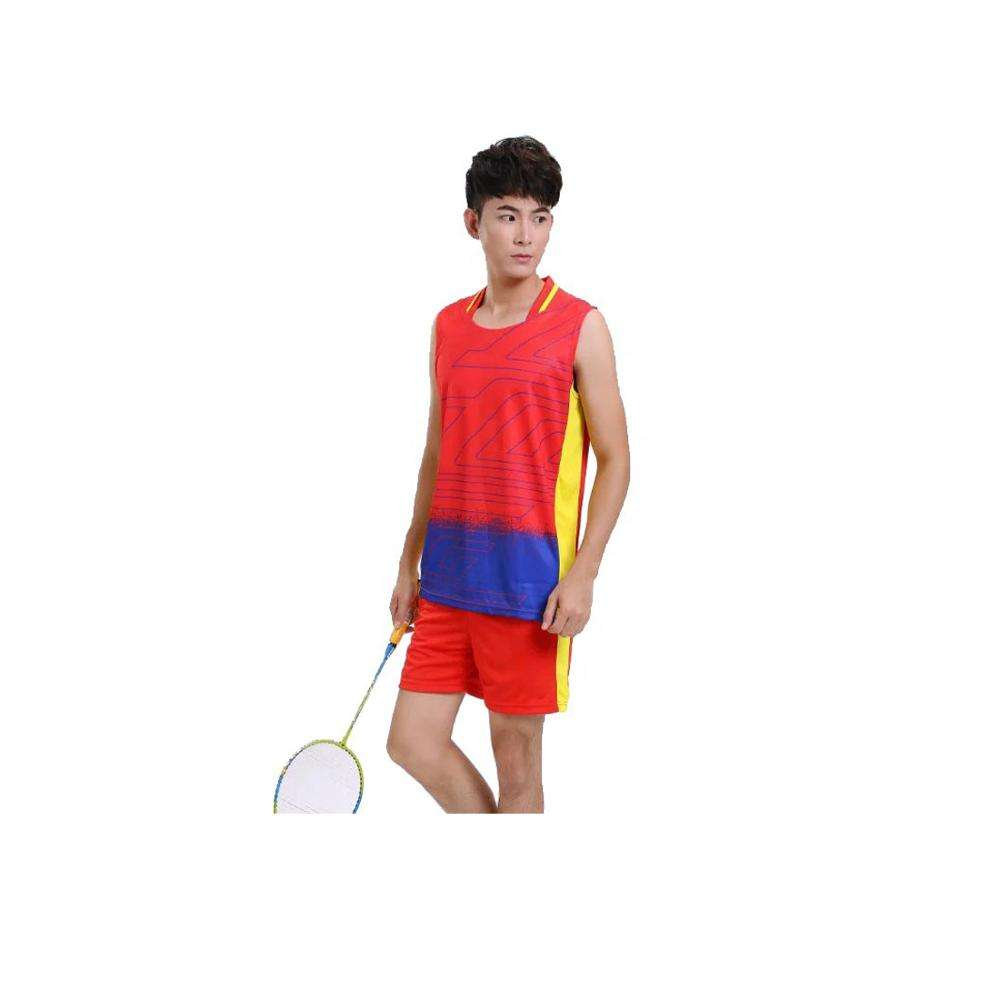 Dry Fit Sublimation Jersey Badminton Uniform Design