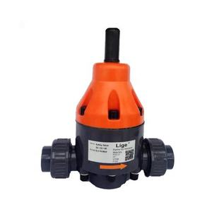 pvc metering pump use back and safe pressure relief valve