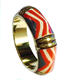 Camel Bone Bangle Painting Bracelets Women fashion Accessories / Ladies Handmade Bone Indian jewelry