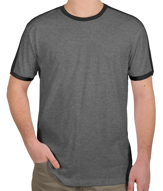 Men Long Line Round Neck Wholesale Blank T shirts At Factory price