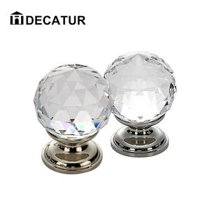 Crystal drawer cabinet pulls knob crystal