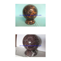 Display Stand onyx marble egg stand base display sphere egg holder natural stone handcarved teakwood black white fossil corel