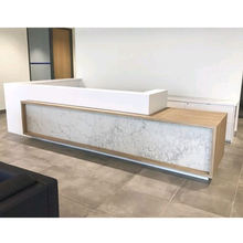 high quality hotel club salon cash register counter/reception table design