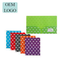 New Product PP Plastic A4 Size Pocket File Folder
