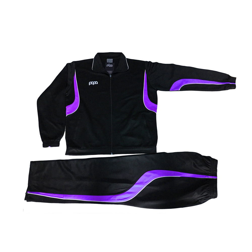 Custom 100% Polyester Windproof Men Tracksuit/ Sports Track Suit
