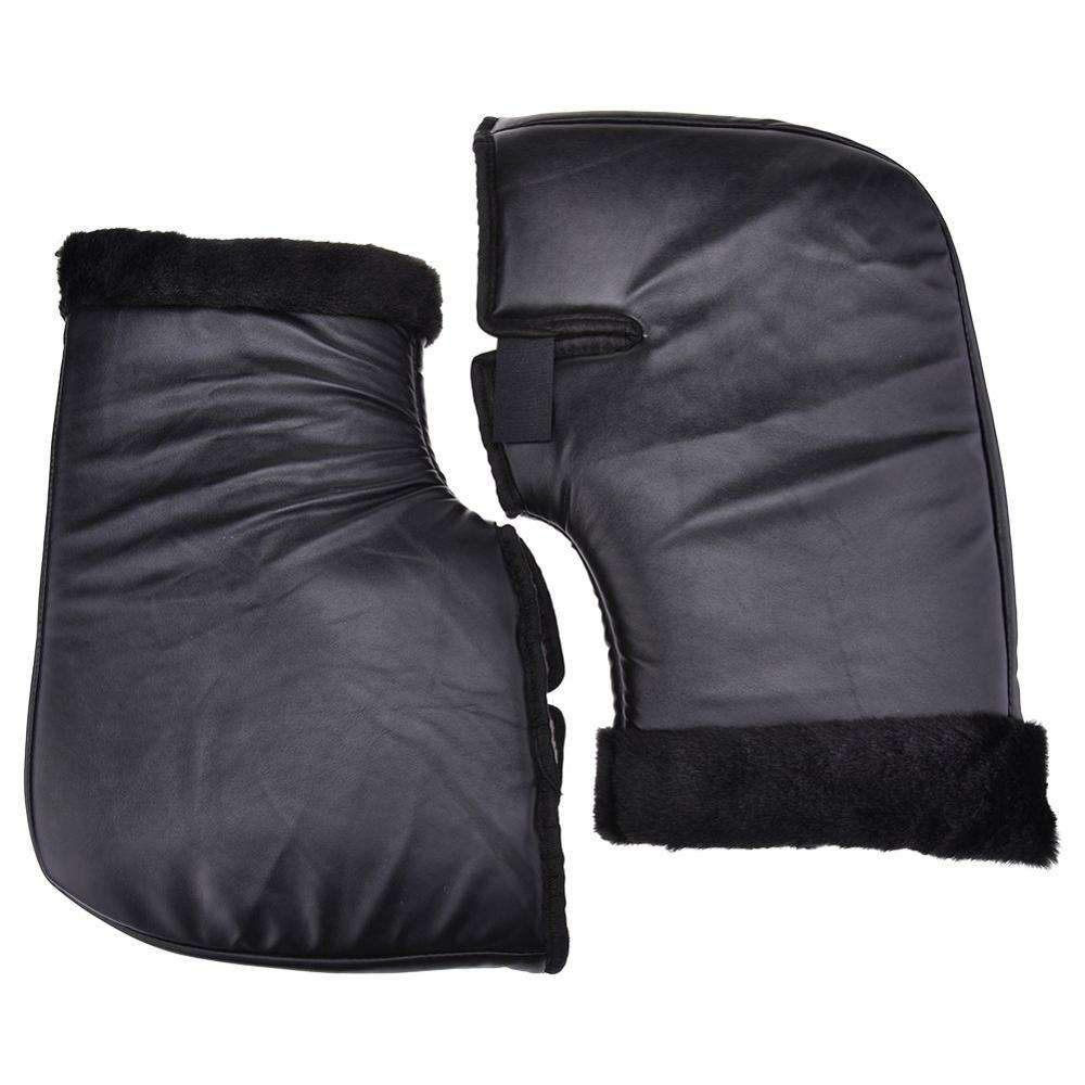 Motorcycle Grip HandleBar Muff Handlebar Protective Waterproof Winter Warmer Thermal Cover Gloves Muff
