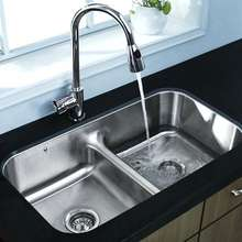 Free Standing Commercial Stainless Steel Kitchen sink with drain board