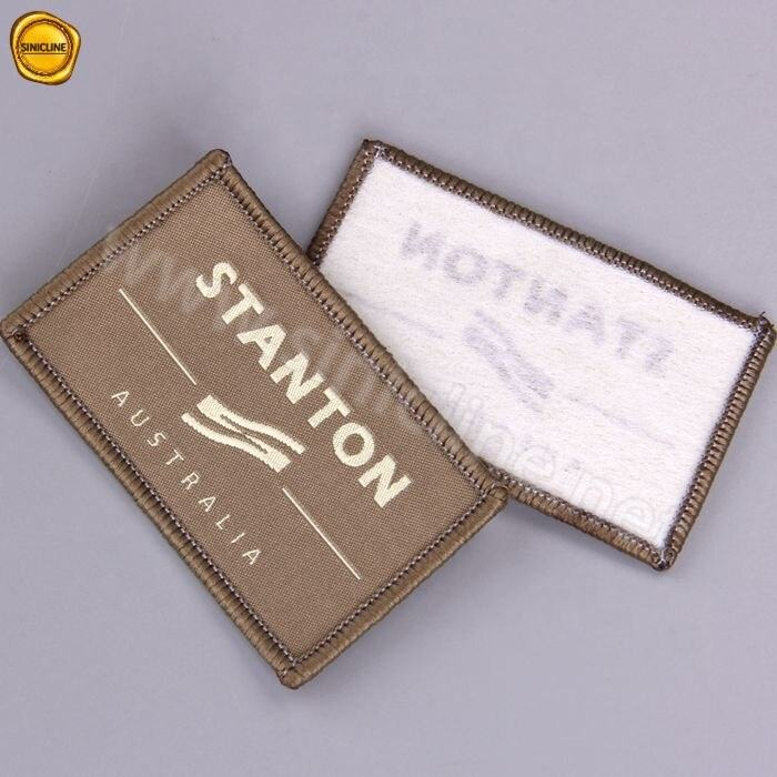 Sinicline Personalized Design Custom Logo woven label Patch