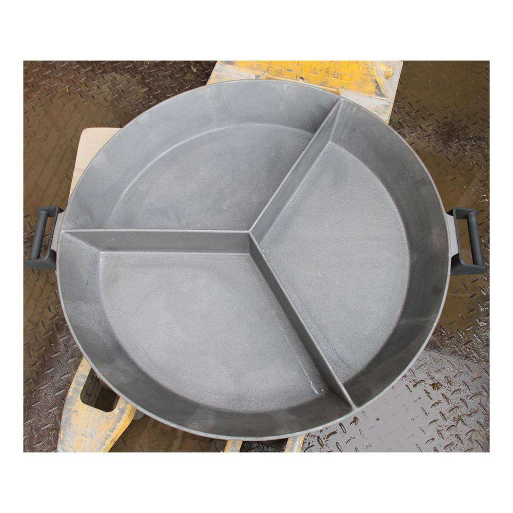 Pan Type GG d-85cm - Cast iron fry pan 3 parts