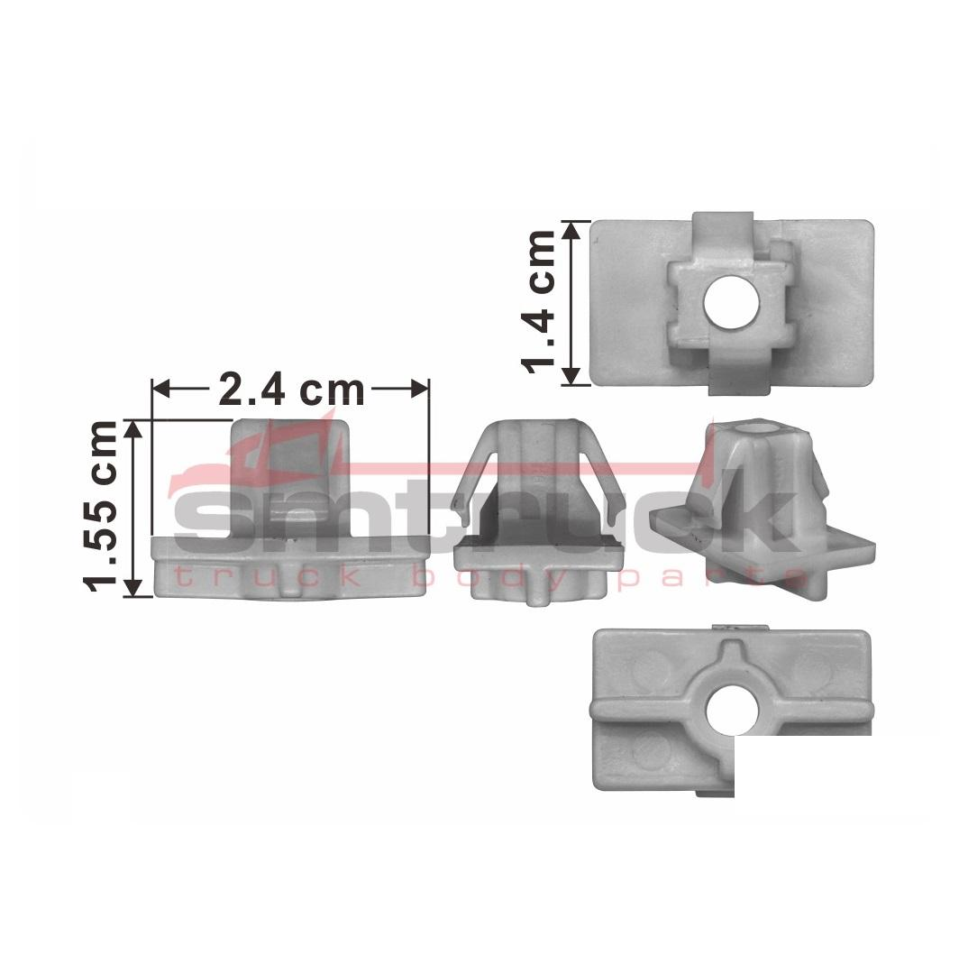 ISM96-601 FORWARD FTR.FSR DECA GROMMET SCREW (FRONT) FOR ISUZU