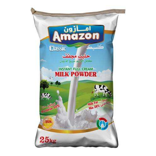 Amazon Classic Milk Powder 25kg bag
