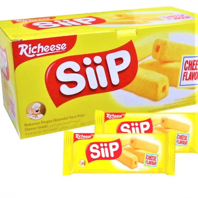 SIIP RICHEESE Cheese Snack 5.5gr | Indonesia Origin