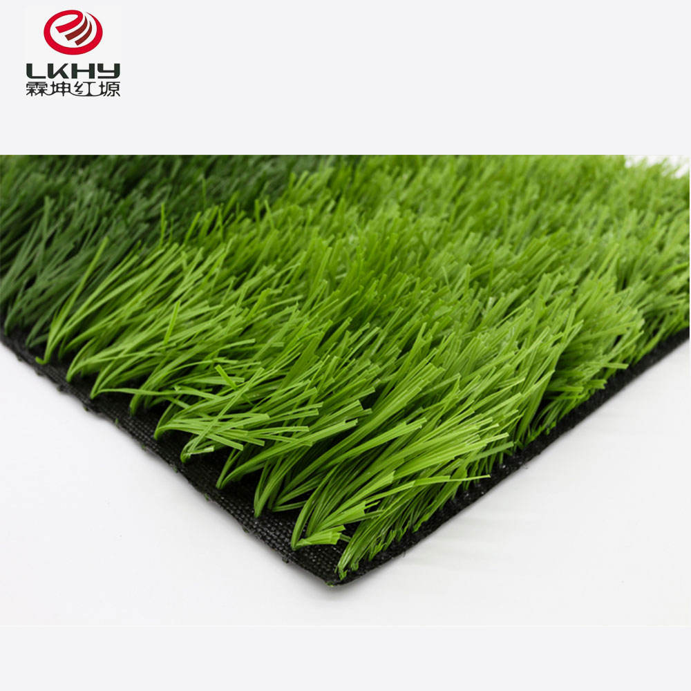 Ecofriendly PP material artificial synthetic football grass for football field
