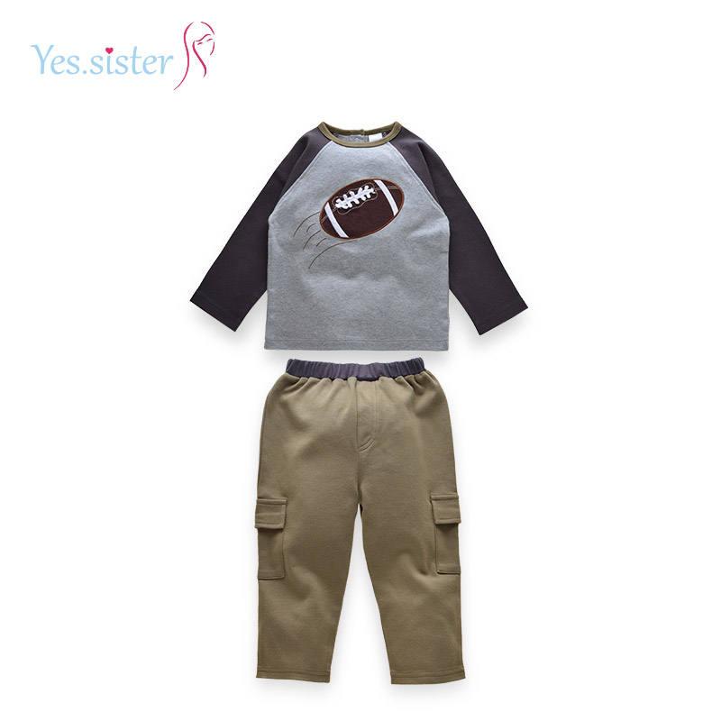 Ensemble de vêtements d'automne pour garçons