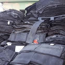 Rubber sheets C grade from tire factory - rubber compound wastes
