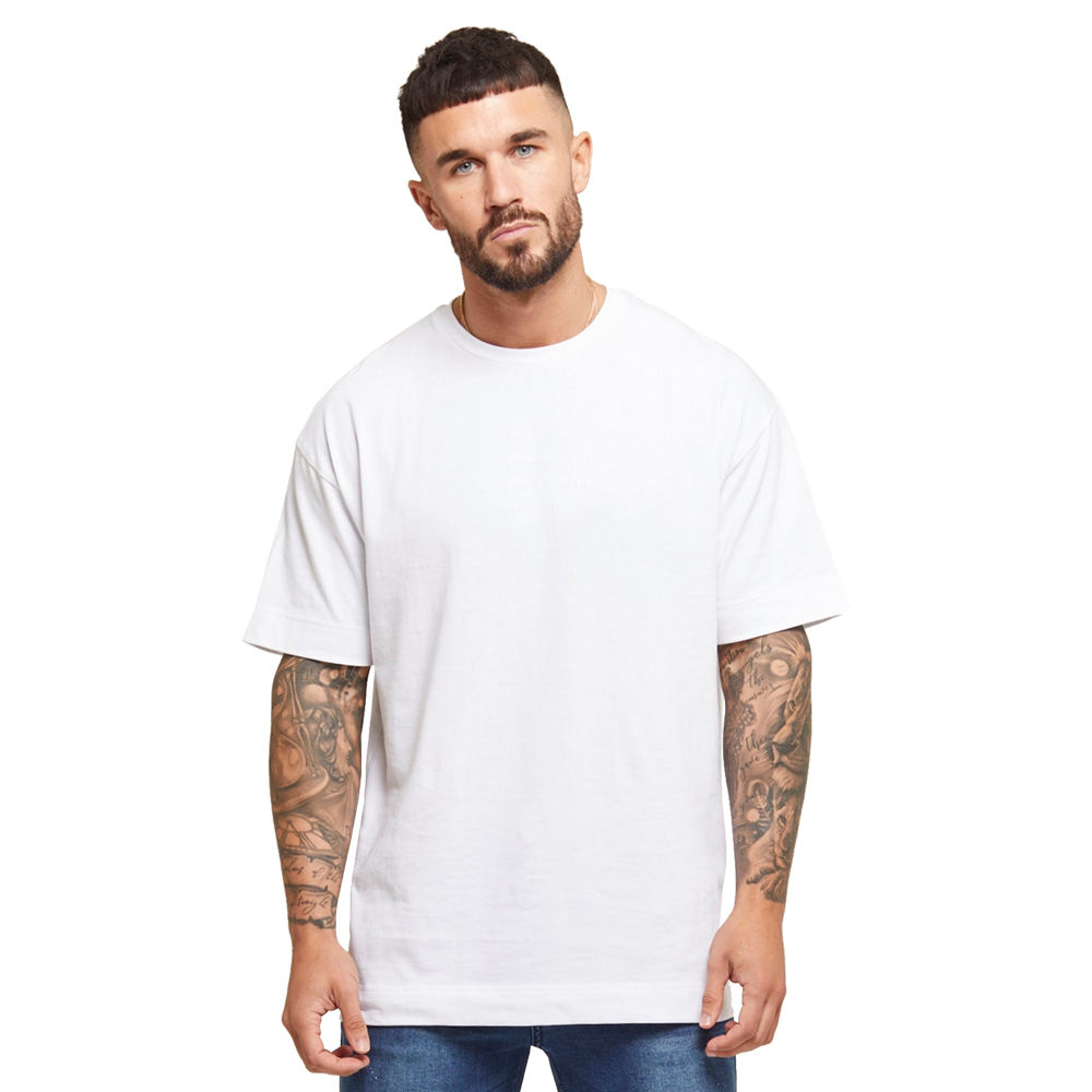 High Quality Tee Shirt Plain No Brand Mens Oversized T-shirts