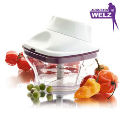 Manual Compact Multi-Purpose Fruit and Vegetable Chopper and Whisker / 2 Functions in 1 Device