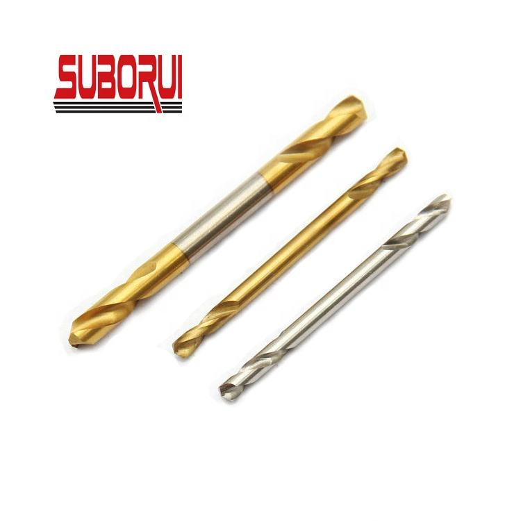 High Speed Steel Short Flute Double End Panel Drill Bit