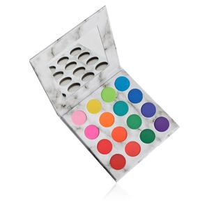 Private Label Cosmetics Diy Makeup 16 Color High Pigmented Eyeshadow Palette