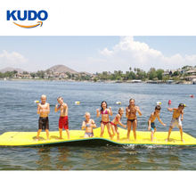 3 layers cheap floating water pad foam floating play water mat for Recreational