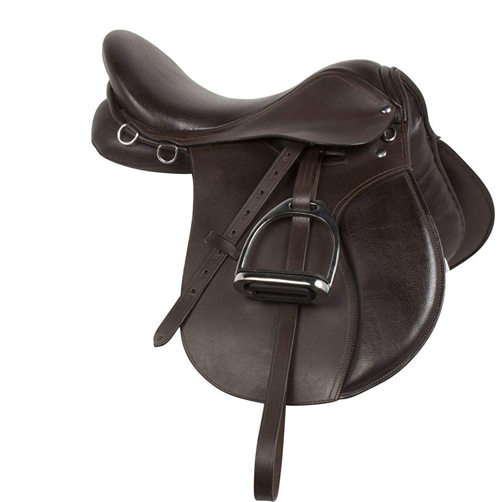 New Top Quality leather horse saddle/Professional English jumping Horse Riding Saddles KIT by Hami Land Sports