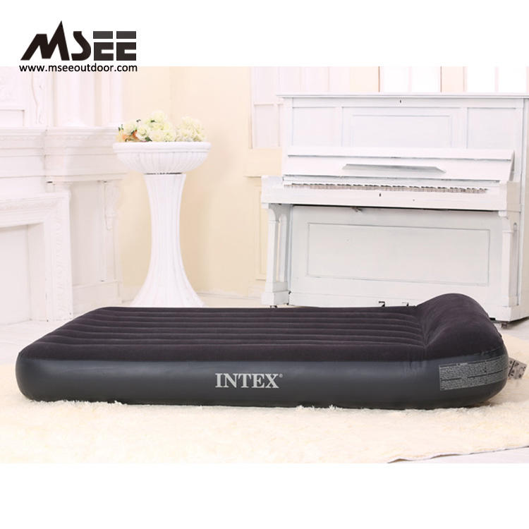 Msee quality design inflatable mattress 64732 intex air bed deluxe airbed