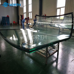 Multi Bent Insulating Glass Tempered Multi Curved IGU Hot Bent Glass