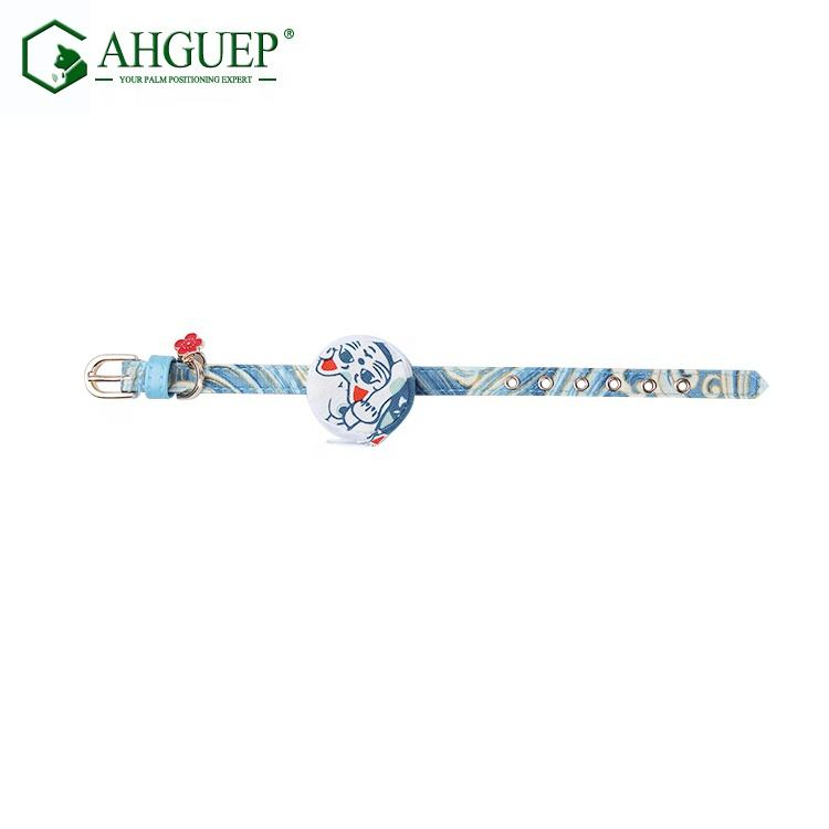 Pet tool nylon white blue bag collars small pets cat dog cute animal collar