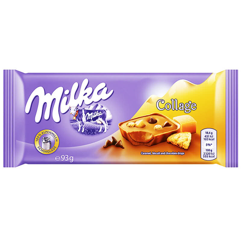 Milka Collage 93g chocolate