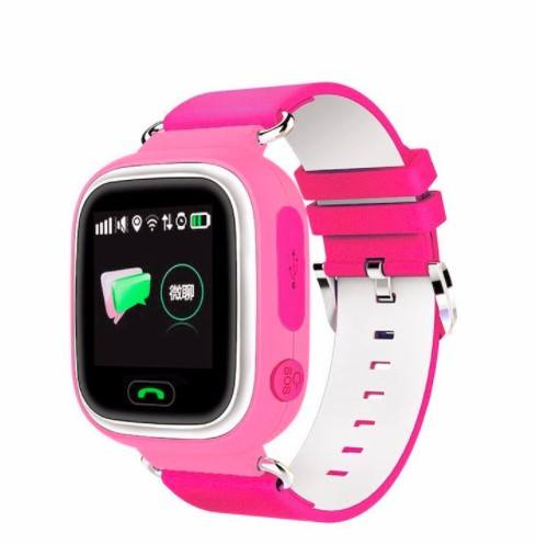 Q90 Children Watch SOS Anti-lost Clock Wifi SIM Card Baby Smartwatch Kids Smart Watch GPS Positioning Alarm Clock PK Q80 Q50 Q60