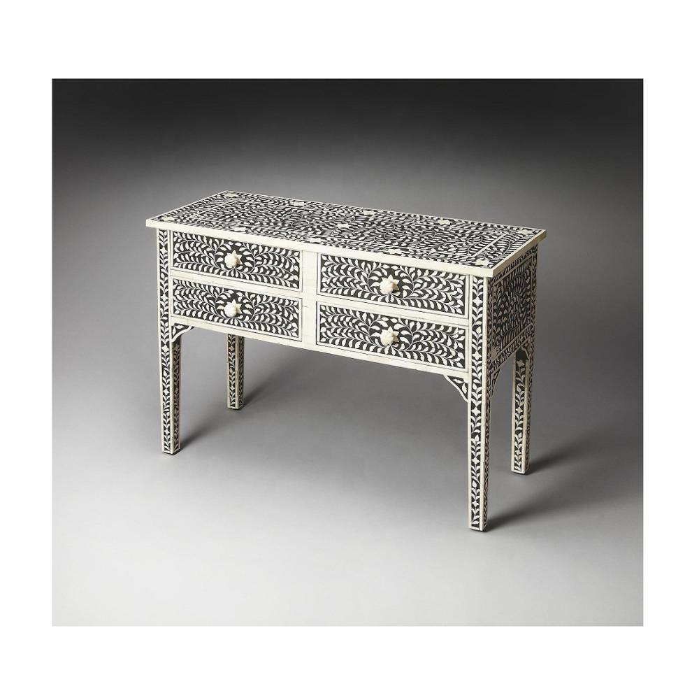 Inlay Bone console table wood