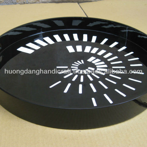 Decorate Vietnamese Wedding Trays Lacquer Handicraft Tray From Vietnam