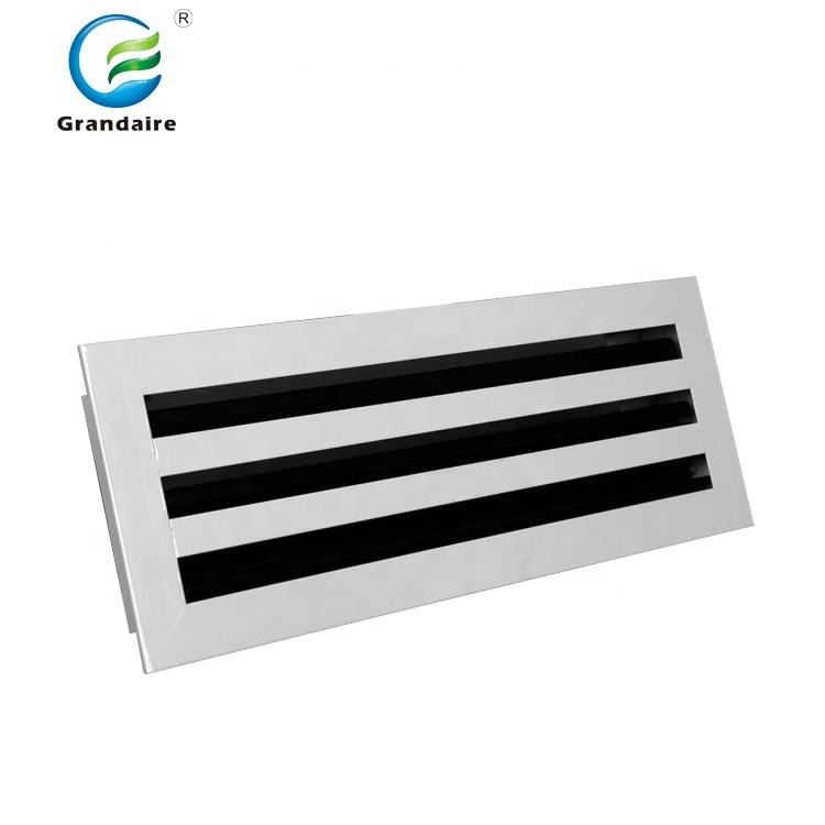 Air Conditioning Adjustable Linear Slot Diffuser