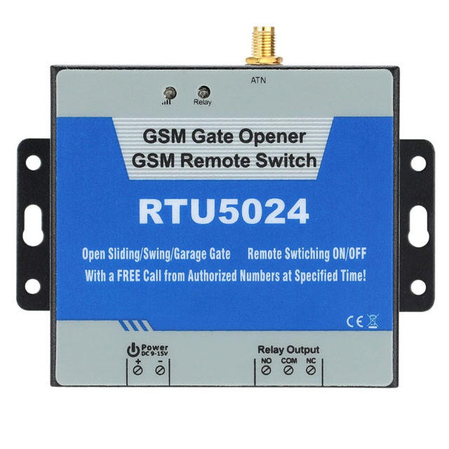 RTU5024 GSM Gate Opener Relay Switch Remote Access Control