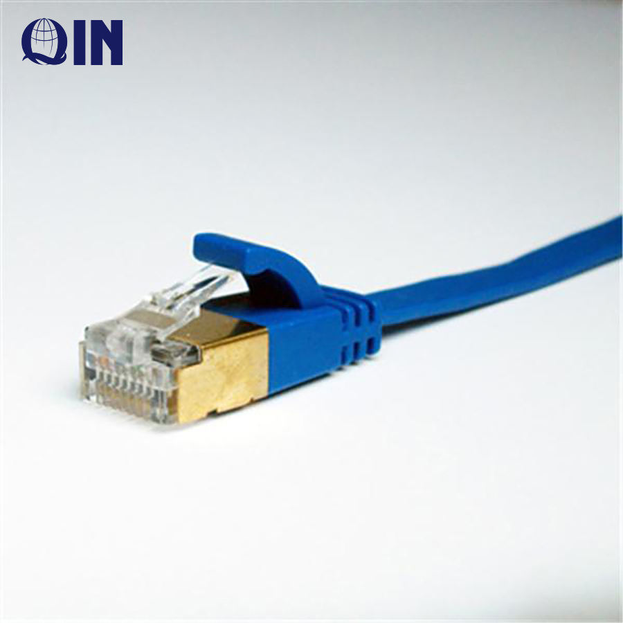 High Speed 23/24awg Ethernet Network Patch cord Manufacturer Cat6a Cat5 Cat5a Flat Ftp Internet Lan Cable Utp Cat6