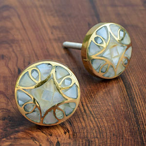 Mother of pearl knobs, Kitchen Cabinet Knobs and Pulls, Brass Door Knobs