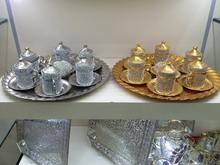 Metal Gift Coffee Set- metal tea set- sugar bowl- tray