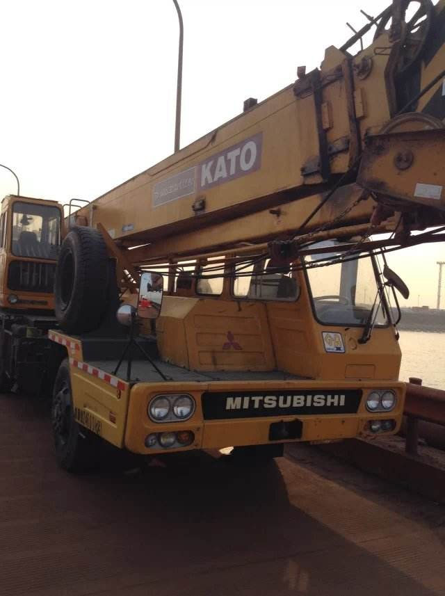 Used 25 Ton Truck Crane NK250E Japan Original KATO Used Crane